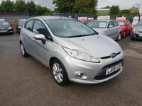 FORD FIESTA 1.6 TDCi ZETEC 5DR 2009 / 1 OWNER FROM NEW / @68K MILES / £20 TAX