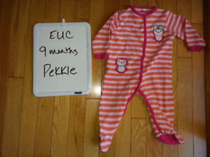 6-12 months girls clothes and coats