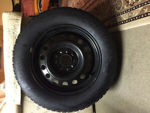 4 Uniroyal Winter Tires and Rims for Sale