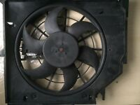 BMW 3 Series E46 Radiator Cooling Fan Assembly