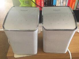 2 Panasonic SC_ALL2 wireless speakers, never used