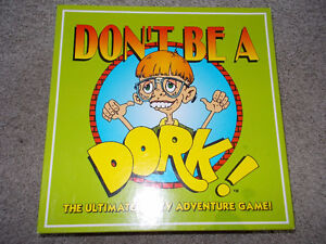 """Don't be a Dork"" Party Adventure Board Game! 2002"