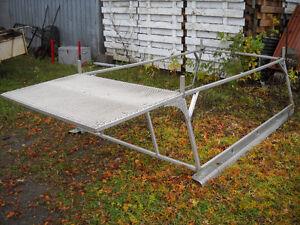Rack aluminium 8 pieds