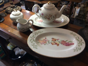 Disney Teapot Set and Serving Dishes