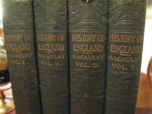 Macaulay 1861 History of England Accession of James II Vol.1-3,5