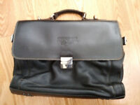 FREE immaculate leather laptop bag