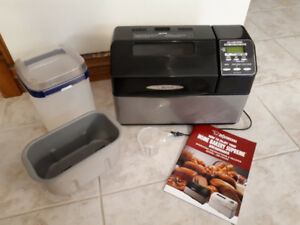 Zojirushi Supreme 2LB Breadmaker, Excellent Condition!