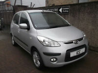 10 10 HYUNDAI I10 COMFORT 1.2 AUTOMATIC 5DR 1 OWNER 8 STAMPS A/C ALLOYS