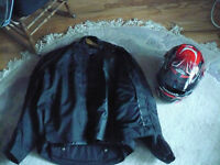 Motorcycle Jackets No helmet and pants