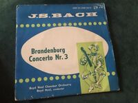 JS Bach Brandenburg Concerto Nr.3 7inch single