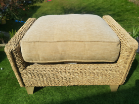 Mark.& Spencer's Bermuda Rattan conservatory Footstool