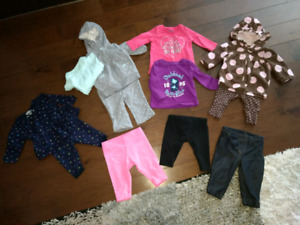 3 Month Outfits, Shirts and Pants - All Excellent Condition