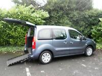 Citroen Berlingo 1.6HDi 2010MY VTR Wheelchair Accessible Vehicle 5 Seats