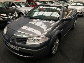 2007 RENAULT MEGANE 1.9 dCi Privilege From GBP2950+Retail package.