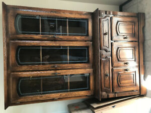 China Cabinet and Table (REDUCED AGAIN)