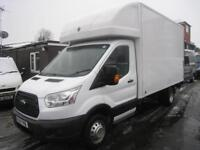 Ford Transit 14 foot luton with tailift 125 ps one owner FSH