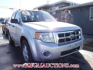 2010 FORD ESCAPE  4D UTILITY 4WD