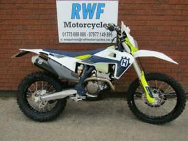 Husqvarna FE 250, 2021, ONLY 6 WEEKS OLD, 50 MILES & 4 HOURS, £800 OF EXTRAS