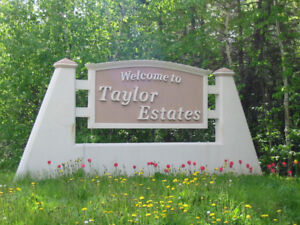 Large Lots Available in Taylor Estates, Pynn's Brook