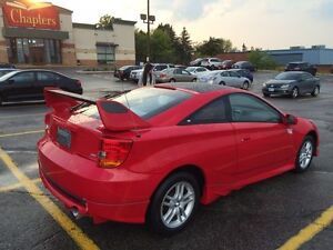 2002 Toyota Celica Hatchback - Pretty in Red