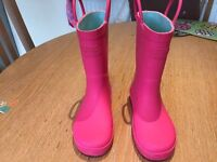 Girls Wellington Boots size 10