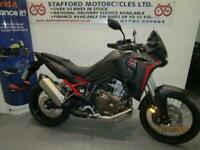 HONDA CRF1100-L AFRICA TWIN. ONLY 51 MILES. STAFFORD MOTORCYCLES LIMITED