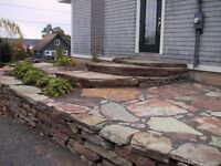 Flagstone for landscaping projects