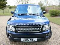 2015 Land Rover Discovery 4 SDV6 SE TECH Auto Estate Diesel Automatic