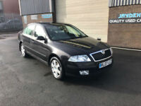 2007 07 SKODA OCTAVIA 2.0TDI PD,MANUAL,109000 MILES WITH SERVICE HISTORY