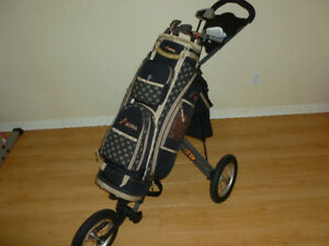 LADIES GOLF CLUBS - BAG - SPEED CART