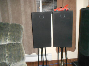 Technics Speakers and a Sony Amp, Tuner and Speakers