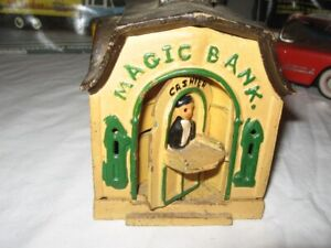 Cast Metal Toy bank