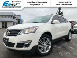 2015 Chevrolet Traverse LT  HEATED SEATS,REMOTE START,REARCAM,20