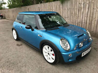 2003 53 Mini Mini 1.6 ( Chili ) Cooper S 6 speed 65k 41.5 MPG STUNNTING MAY P/X