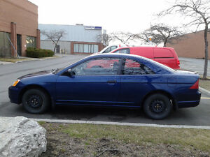 2001 Honda Civic DX Coupe (2 door)