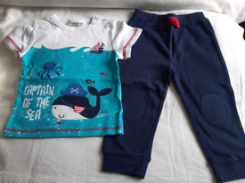 Captain of the Sea set 18 - 24 months Brand New