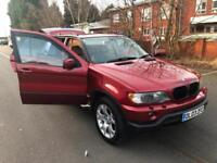BMW X5 3.0i 2003MY. RARE MANUAL. 9 STAMPS IN SERVICE BOOK. 2X DVD PLAYERS.
