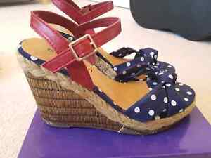 Madden Girl wedges - Size 8.5/9