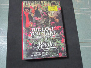 """The Love You Make"" -An Insiders Story Of The Beatles--Mint Book"