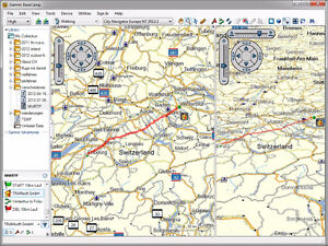 BACKROAD navigation RUGGED TOUGHBOOK laptops with TOPO MAPS GARM