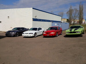 Mustang Shop located in Sherwood Park