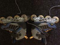 Roller Blades Ladies Size 6.5