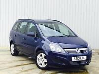 Vauxhall/Opel Zafira 1.6i 16v VVT ( 115ps ) 2013 Exclusive 7 seater PX SWAP