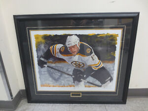 Milan Lucic print by Glen Green
