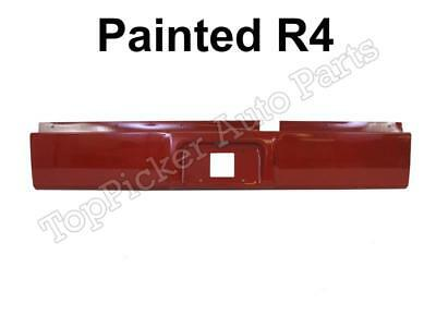 Painted Flame Red R4 Roll Pan For 02-08 Dodge Ram 1500 & 03-09 Ram 2500 3500
