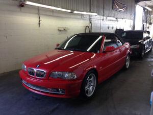 BMW E46 2002 330CI Convertible 135 000 kilo JAMAIS sorti l'hiver