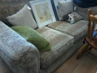 Floral 2 seater sofa Plus a chair we deliver