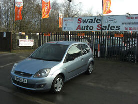 2006 FORD FIESTA ZETEC 1.2L ONLY 58,959 MILES, FULL SERVICE HISTORY