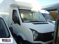 2015 VOLKSWAGEN CRAFTER CR35 TDI 109LUTON WITH TAIL LIFT LUTON DIESEL