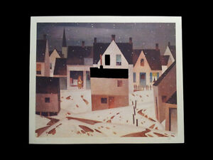 "A.J. Casson ""Late Flurry"" Lithograph - Appraised at $750 London Ontario image 5"